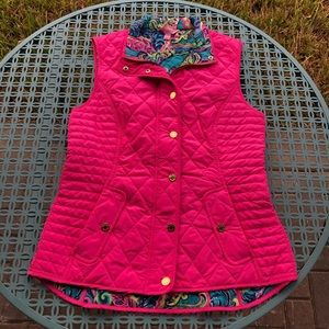 Lilly Pulitzer Blake Vest - Tropical Pink